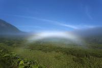 知床峠の白い虹