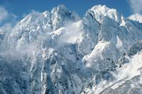 初冬の劔岳