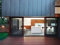 Modern kitchen and Veranda