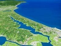 北浦と茨城県沿岸 02614000159| 写真素材・ストックフォト・画像・イラスト素材|アマナイメージズ