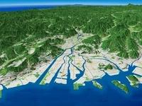 広島市と太田川三角州