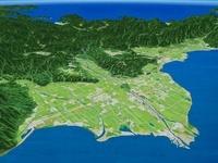 琵琶湖沿岸と安曇川三角州