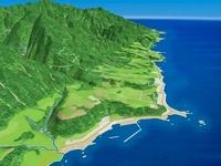佐渡島西部の海岸段丘 02614000188| 写真素材・ストックフォト・画像・イラスト素材|アマナイメージズ