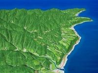 室戸岬の河岸段丘 02614000190| 写真素材・ストックフォト・画像・イラスト素材|アマナイメージズ