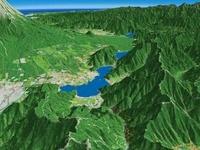 富士山裾野の河口湖