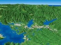 小野川湖の周辺湖