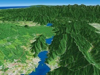 西湖と河口湖