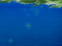 青ヶ島以北の伊豆諸島と本土