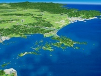 浦戸諸島と松島湾と石巻湾