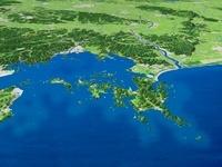 浦戸諸島と松島湾
