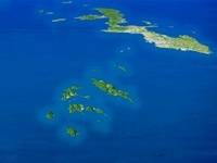 慶良間諸島と沖縄本島