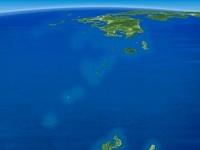 薩南諸島と九州と中国四国