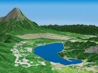 富士山裾野の山中湖