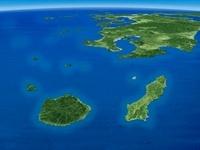 大隅諸島と九州