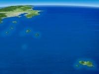 八丈島以北の伊豆諸島と本土