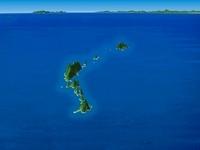 草垣群島と九州