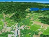 屈斜路湖から流れでる釧路川