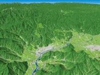 恐竜渓谷ふくい勝山ジオパーク  02614000559| 写真素材・ストックフォト・画像・イラスト素材|アマナイメージズ