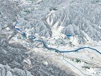 野沢温泉周辺スキーエリア 02614000581| 写真素材・ストックフォト・画像・イラスト素材|アマナイメージズ