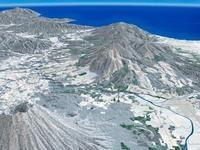 ニセコ周辺スキーエリアと羊蹄山