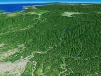 日の出山を遠景より望む 02614000632| 写真素材・ストックフォト・画像・イラスト素材|アマナイメージズ
