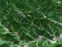 高尾山を望む 02614000636| 写真素材・ストックフォト・画像・イラスト素材|アマナイメージズ