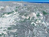 安比高原周辺スキーエリア 02614000653| 写真素材・ストックフォト・画像・イラスト素材|アマナイメージズ