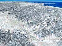 蔵王周辺スキーエリアと山形市 02614000656| 写真素材・ストックフォト・画像・イラスト素材|アマナイメージズ