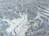 上越周辺スキーエリア 02614000660| 写真素材・ストックフォト・画像・イラスト素材|アマナイメージズ