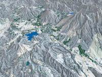 妙高高原周辺スキーエリアと野尻湖 02614000662| 写真素材・ストックフォト・画像・イラスト素材|アマナイメージズ