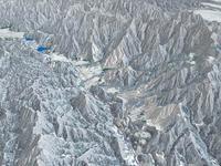 白馬山麓スキーエリア 02614000663| 写真素材・ストックフォト・画像・イラスト素材|アマナイメージズ