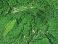 八甲田山を望む