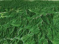 金峰山と瑞牆山を望む