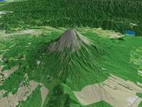 富士山を望む1