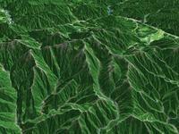 木曽駒ケ岳を望む