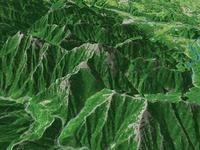 甲斐駒ケ岳を望む
