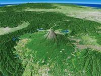 富士山を望む 02614000695| 写真素材・ストックフォト・画像・イラスト素材|アマナイメージズ