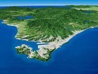 室蘭・地球岬を一望