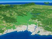 釧路湿原を望む