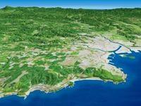八戸市・種差海岸を望む