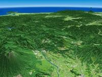 八幡平・安比高原を望む 02614000722| 写真素材・ストックフォト・画像・イラスト素材|アマナイメージズ