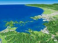 松島を望む