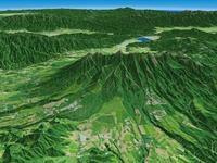 八ヶ岳山麓・清里を望む
