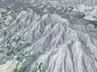 八ヶ岳を望む(冬)