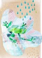 カエル 02619000033| 写真素材・ストックフォト・画像・イラスト素材|アマナイメージズ