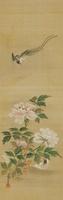 花と小鳥 02626000039| 写真素材・ストックフォト・画像・イラスト素材|アマナイメージズ