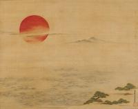 大海と旭日(BIG SUN OVER THE SEA) 02626000043| 写真素材・ストックフォト・画像・イラスト素材|アマナイメージズ