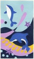 イルカと波