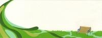 草原におかれたベンチ 02632000050| 写真素材・ストックフォト・画像・イラスト素材|アマナイメージズ
