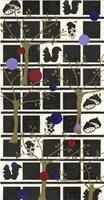 リスとブドウと栗 02632000074| 写真素材・ストックフォト・画像・イラスト素材|アマナイメージズ